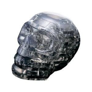 3D головоломка Череп черный