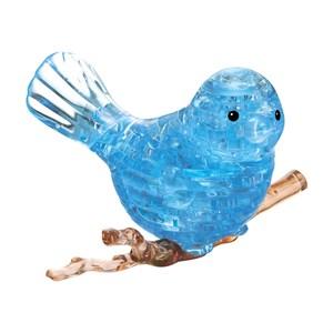 3D Головоломка Птичка голубая