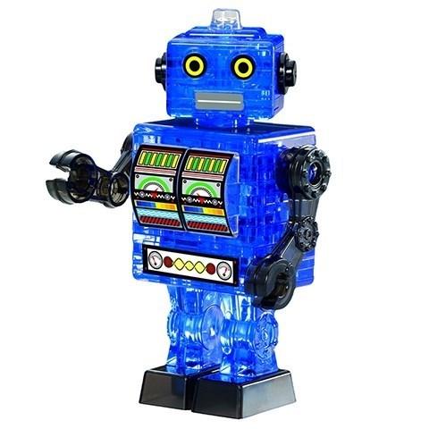 3D головоломка Робот cиний