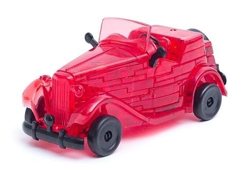 3D головоломка Автомобиль красный