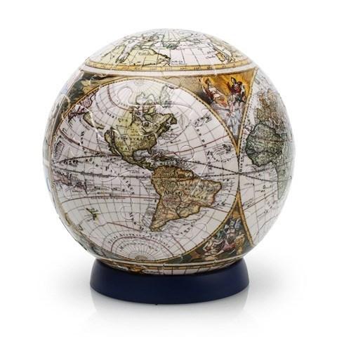 Шаровый пазл Старинная карта мира (60 деталей)