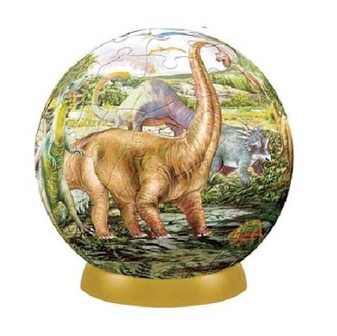 Шаровый пазл Динозавры (240 деталей)