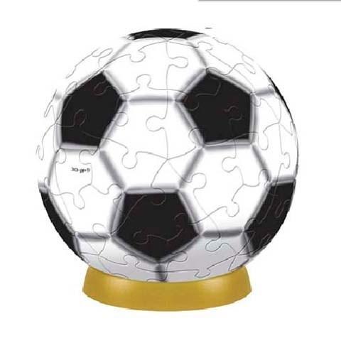 Шаровый пазл Футбол 240 деталей, 15 см A2701_06