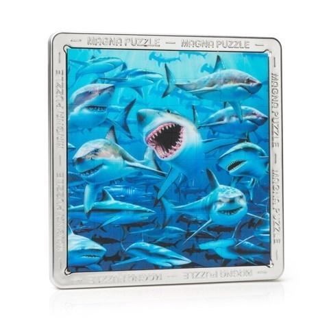3D мега пазл Акулы