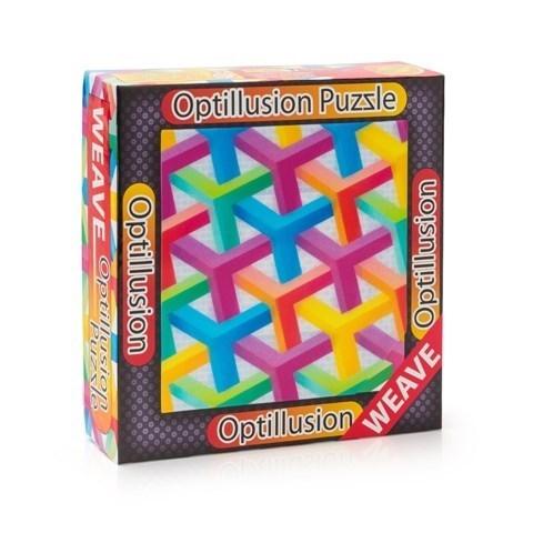 3D пазл-игра Оптические иллюзии Решетка
