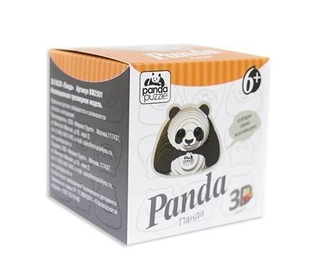 3D пазл Панда коллекционный