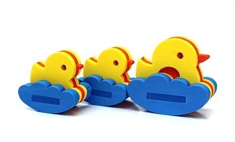 Игрушка-конструктор для купания Семейство уточек