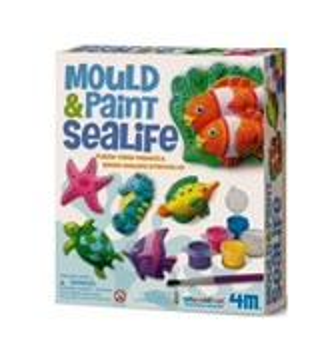 Морские животные на магнитах 4М