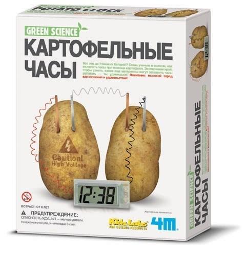 Картофельные часы 4М