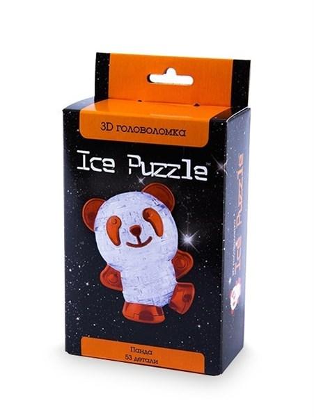 3D головоломка Ice puzzle  Панда оранжевая 0-151