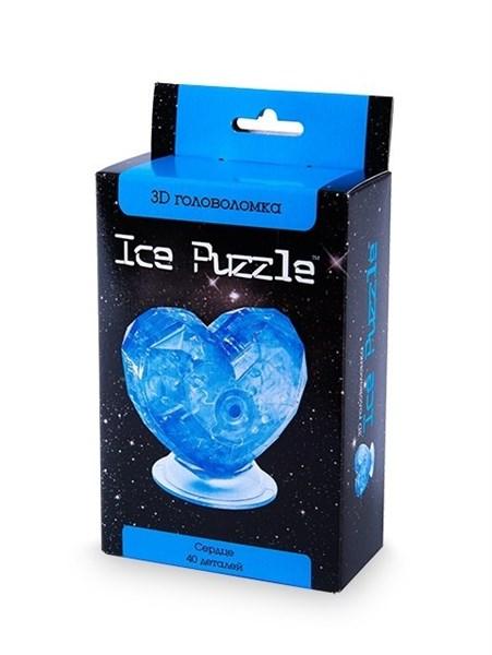 3D головоломка Ice puzzle  Сердце голубое 0-304
