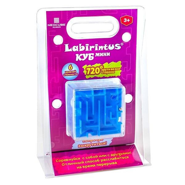 Лабиринтус Куб, 6 см, синий