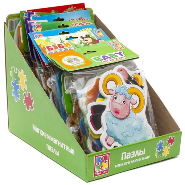 Рекламный дисплей для пазлов Vladi Toys