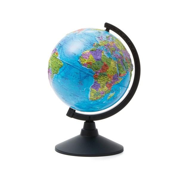 Глобус Земли политический 210 мм Рельефный  Классик