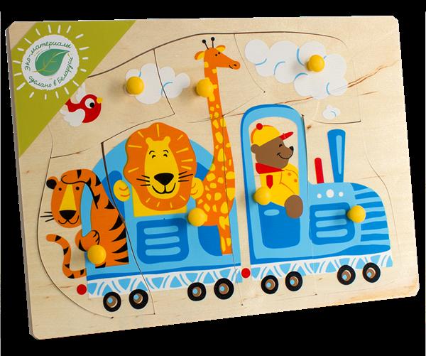 Игрушка Пазл «Поезд»