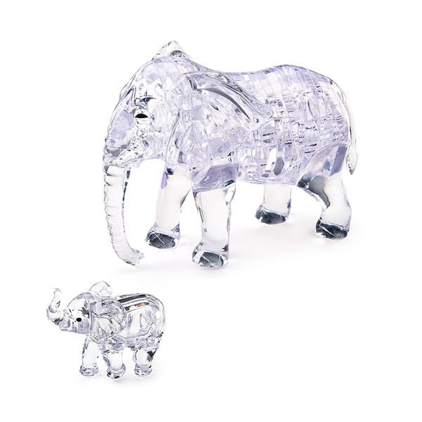 3D головоломка Два слона