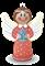 Набор Ангел с блестками Шар-папье - фото 7888
