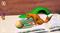 3D раскраска Колобок - фото 8139